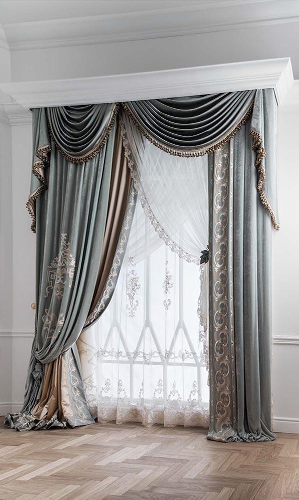 Элегантные и изысканные шторы