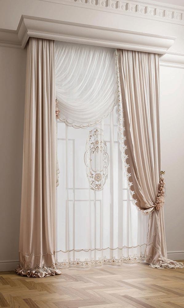 Итальянские классические шторы