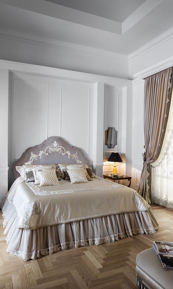 Шторы для спальни Art Nouveau Letto