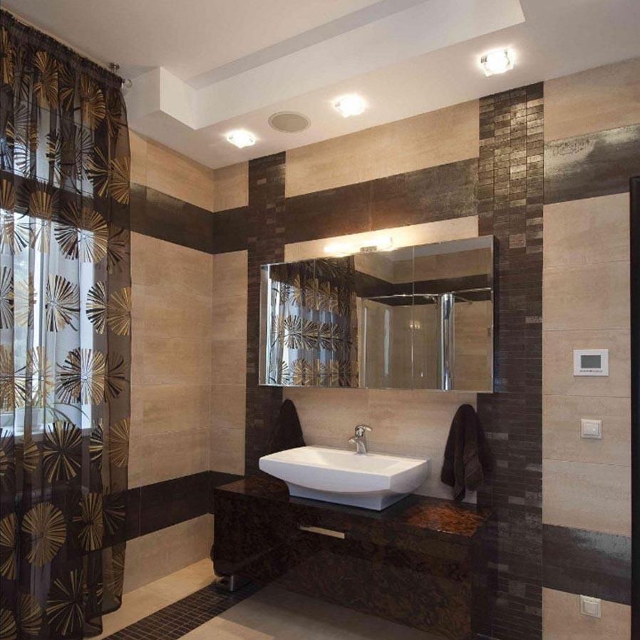 Шторы в ванную комнату 2
